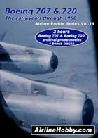 Boeing 707 and Boeing 720 The early years through 1960 DVD