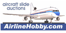 AirlineHobby aircraft slide auction website