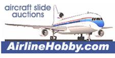 AirlineHobby aircraft slide auction website