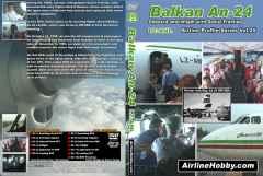 Balkan Bulgarian Antonov An-24 DVD