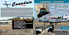 Canadair CT-33 Silver Star In-Cockpit DVD