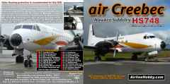Air Creebec Hawker Siddeley HS748 DVD