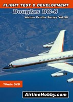Douglas DC-8 Flight Test DVD