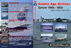 Golden Age Airlines: 1940s - 1960s sampler