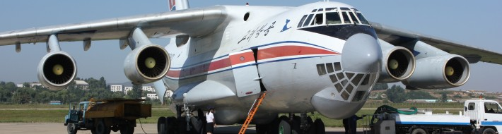 Air Koryo IL-76