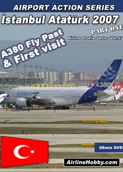 Istanbul Ataturk Airport 2007 part 1 DVD
