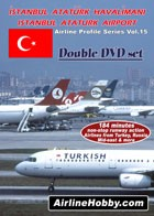 Istanbul Ataturk International Airport Double DVD set