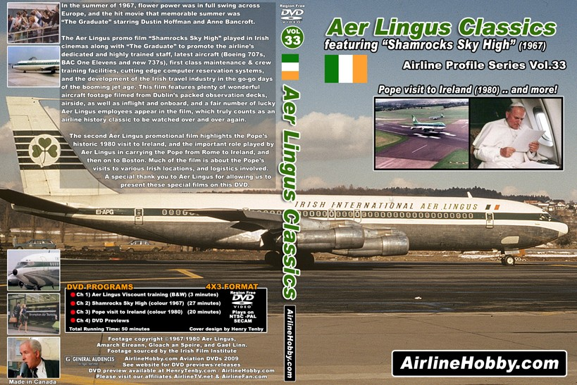 Aer Lingus Classics 1960s and 1970s DVD