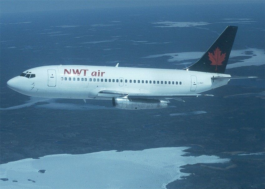 NWT Air 737 inflight by Henry Tenby