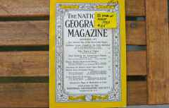 National Geographic Magazine 50 Years of Flight DEC 1953 issue