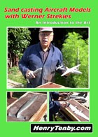 Sandcasting Aircraft Models with Werner Strekies DVD