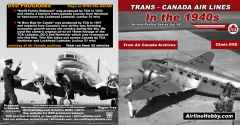 Trans-Canada Air Lines In the 1940s DVD