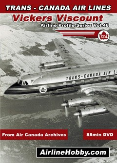 Trans-Canada Air Lines Vickers Viscount DVD