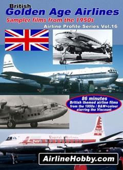 British Golden Age Airlines DVD