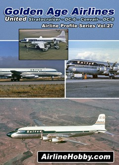 United Airlines Stratocruiser DC-6 Convair CV-340 DC-8 DVD