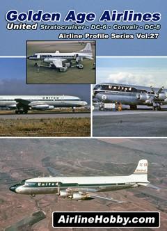 United Airlines Stratocruiser DC-6 Convair CV-340 DC-8 DVD