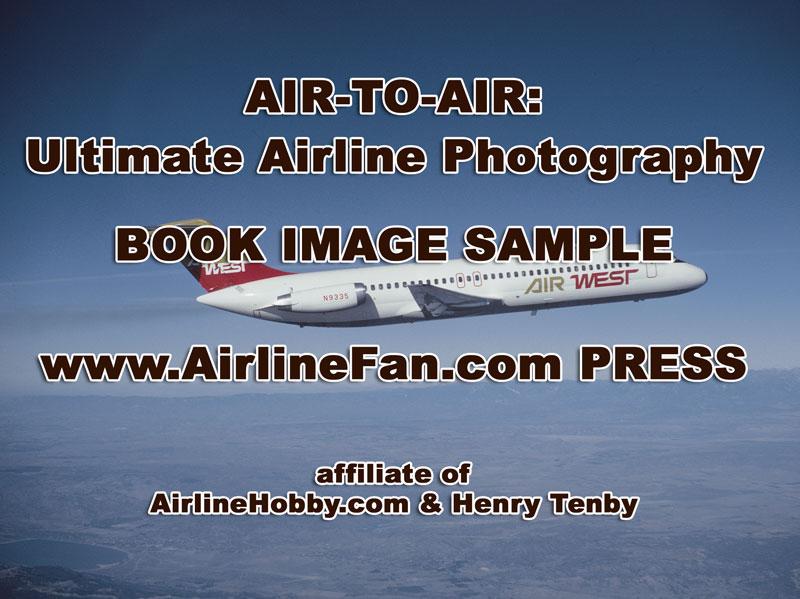 Air West DC-9 inflight