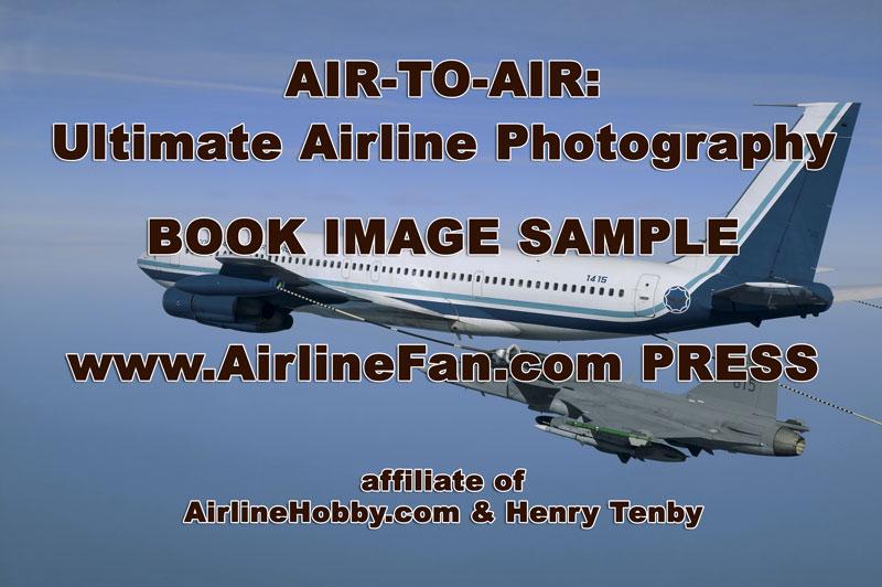 SAAF Boeing 707 inflight