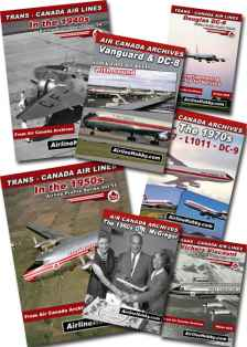 Air Canada History 7DVD set