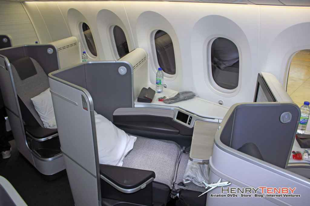 Air Canada 787 Dreamliner debut