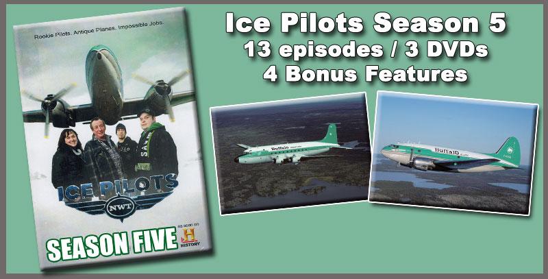 Ice Pilots Season 5 DVD Set