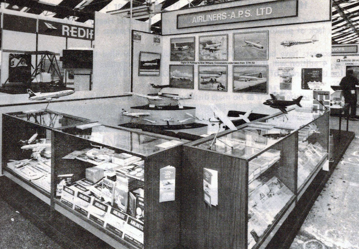 FLASHBACK: Airline Publications & Sales at 1976 SBAC Farnborough