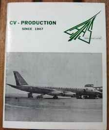 CV Convair Production since 1947 LAAS International AUG 1968