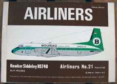 Airliners No. 21 Hawker Siddeley HS748 by H. Holmes, Airlines Publication & Sales