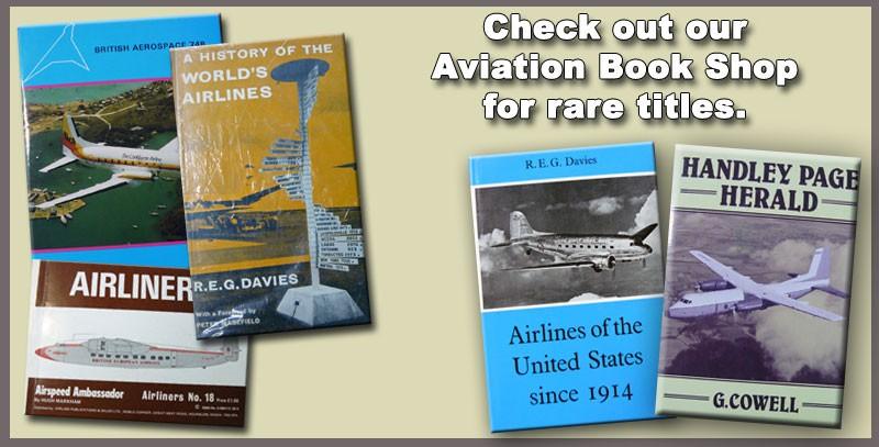 HenryTenby.com vintage aviation book shop