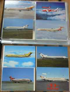 Boeing 727-200 postcard collection for sale
