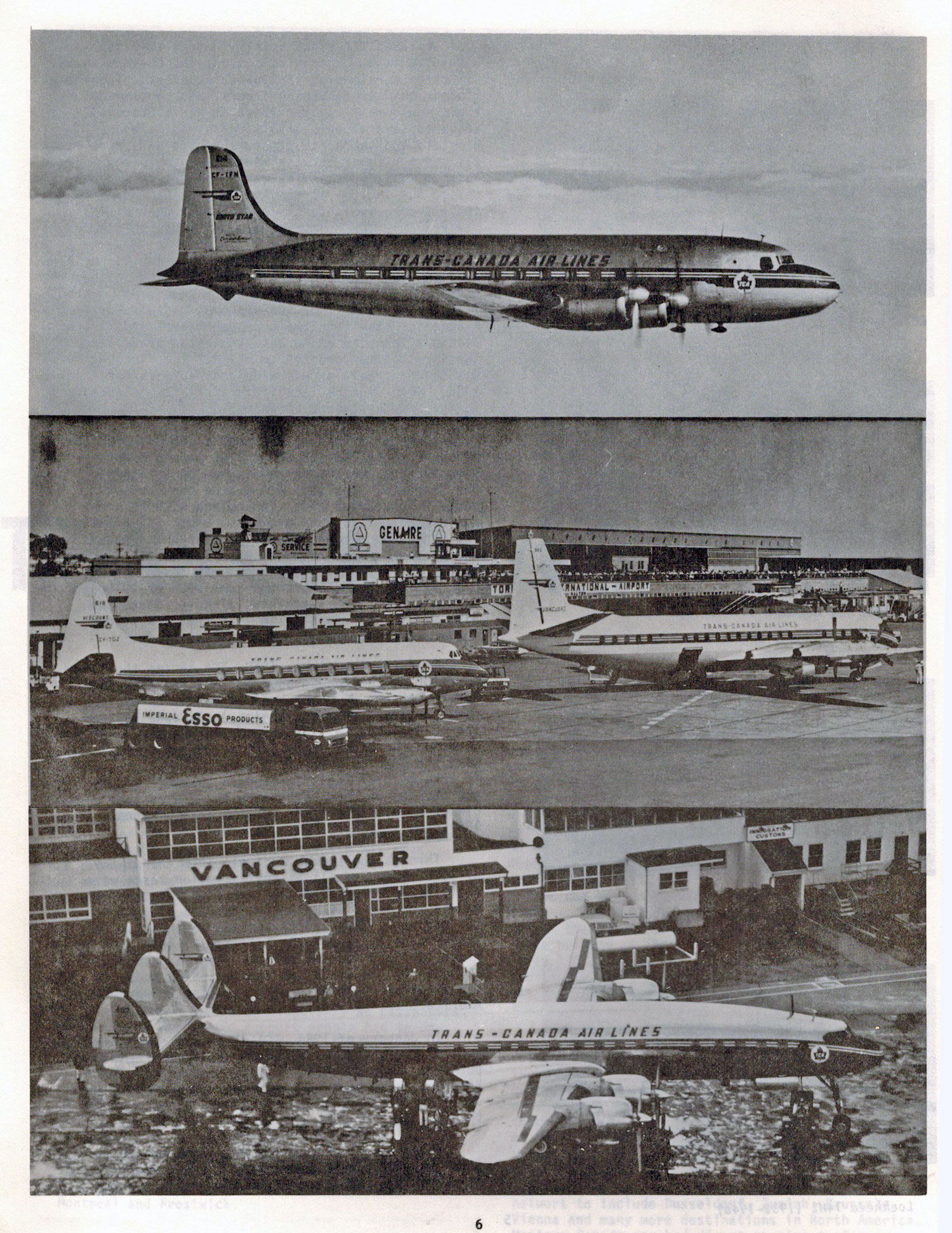Trans Canada Air Lines history to 1984