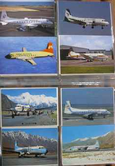 HS748 BAe ATP postcard collection for sale