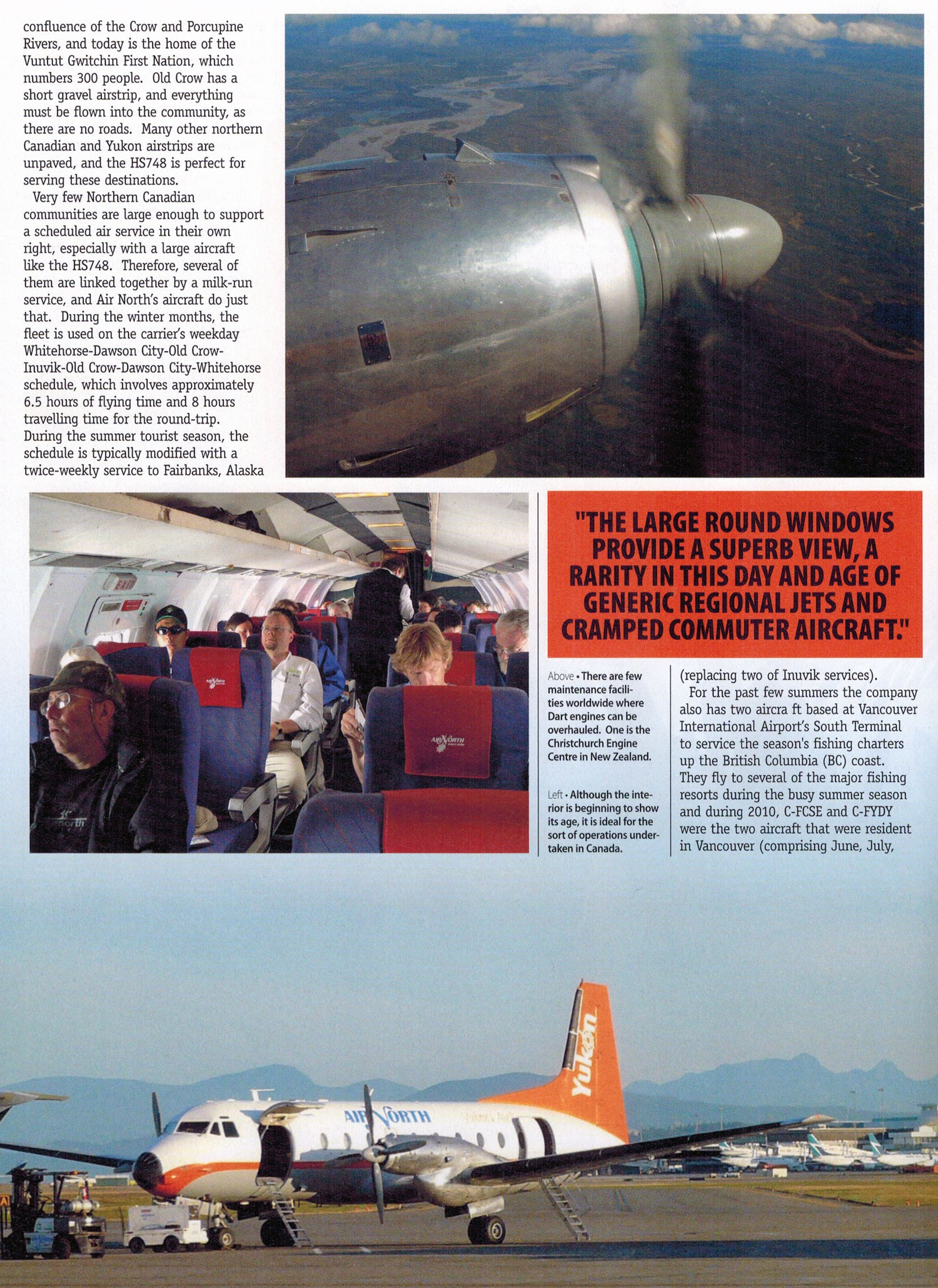 Air North and the HS748 by story & photos by Henry Tenby