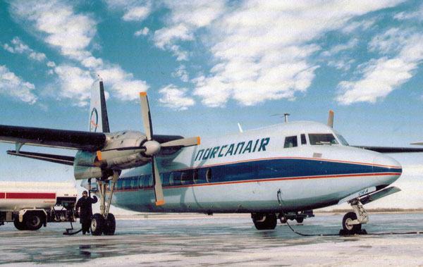Norcanair of Saskatoon Takes Off story and photos by Henry Tenby