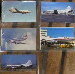 Martin 202 404 airline postcard collection