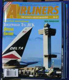 Airliners Magazine 8 issues starting SEP/OCT 1996 in official Airliners binder