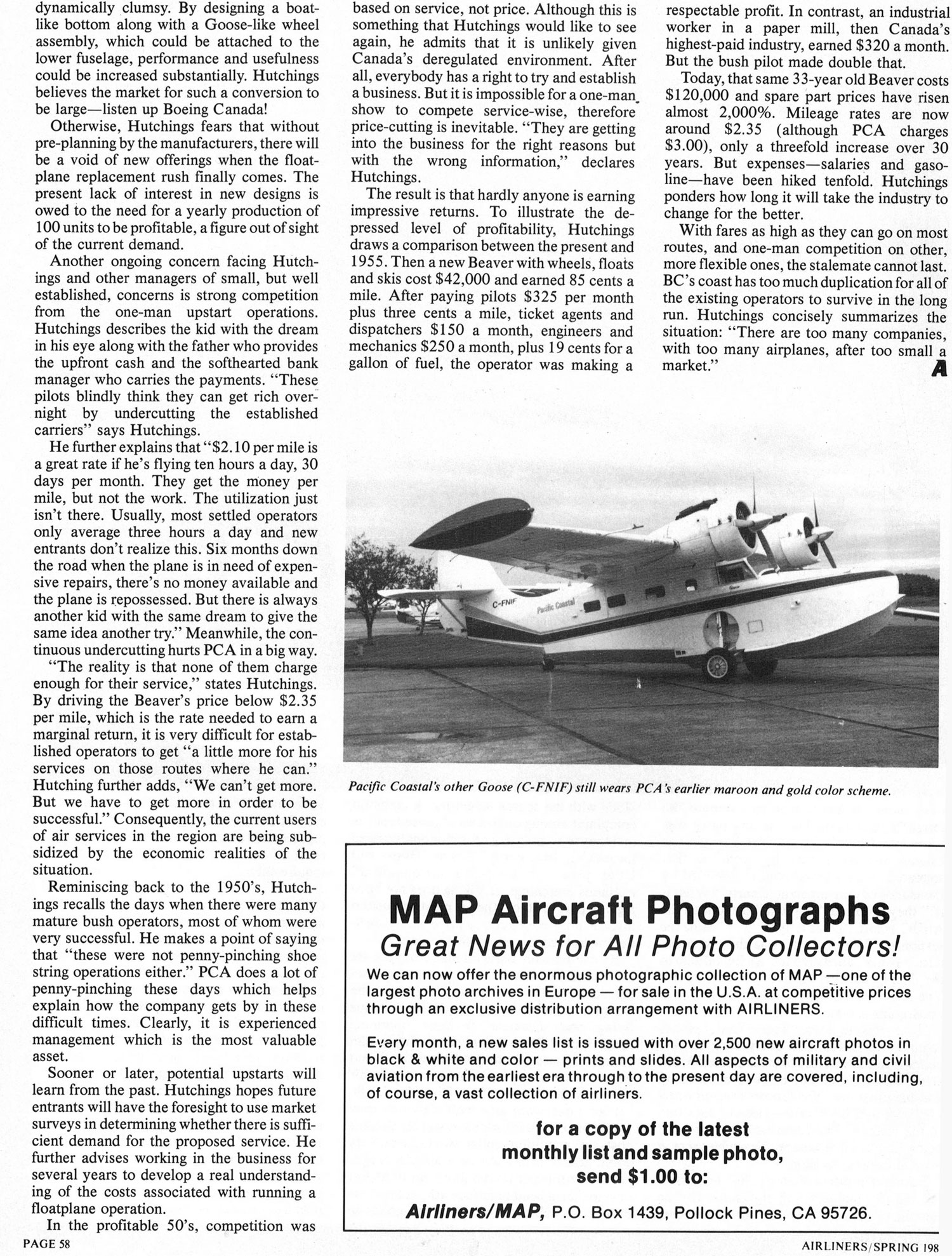 Pacific Coastal Airlines Tomorrow's Issues Today's Survival