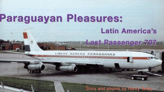 LAP Paraguay Boeing 707