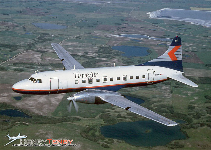 Time Air Convair 640 580 story and photos by Henry Tenby