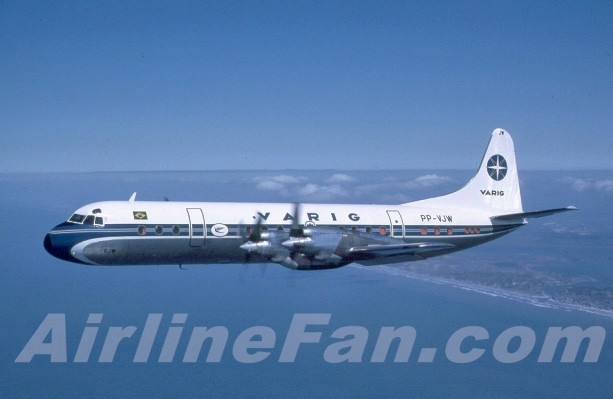 VARIG Brazilian Airlines Celebrates 30 Years of the Ponte Aerea L-188 Electra by Henry Tenby