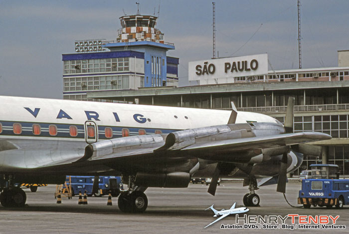 VARIG Lockheed Electra Sao Paulo