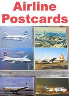 Airline Postcards