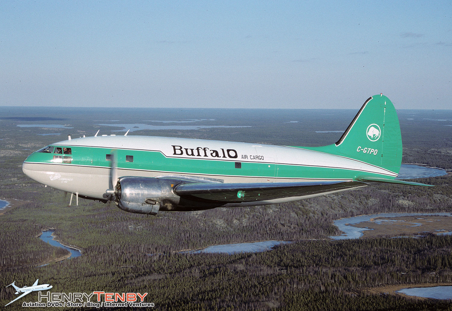 Buffalo Airways of Yellowknife: Propliners of the North DVD