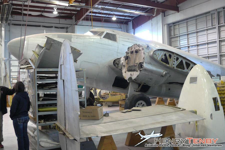 Trans Canada Airlines Lockheed Lodestar CF-TCY Restoration