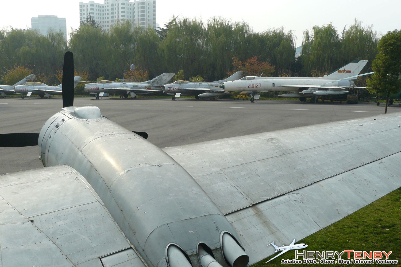 Shanghai Aviation Museum CAAC IL-14