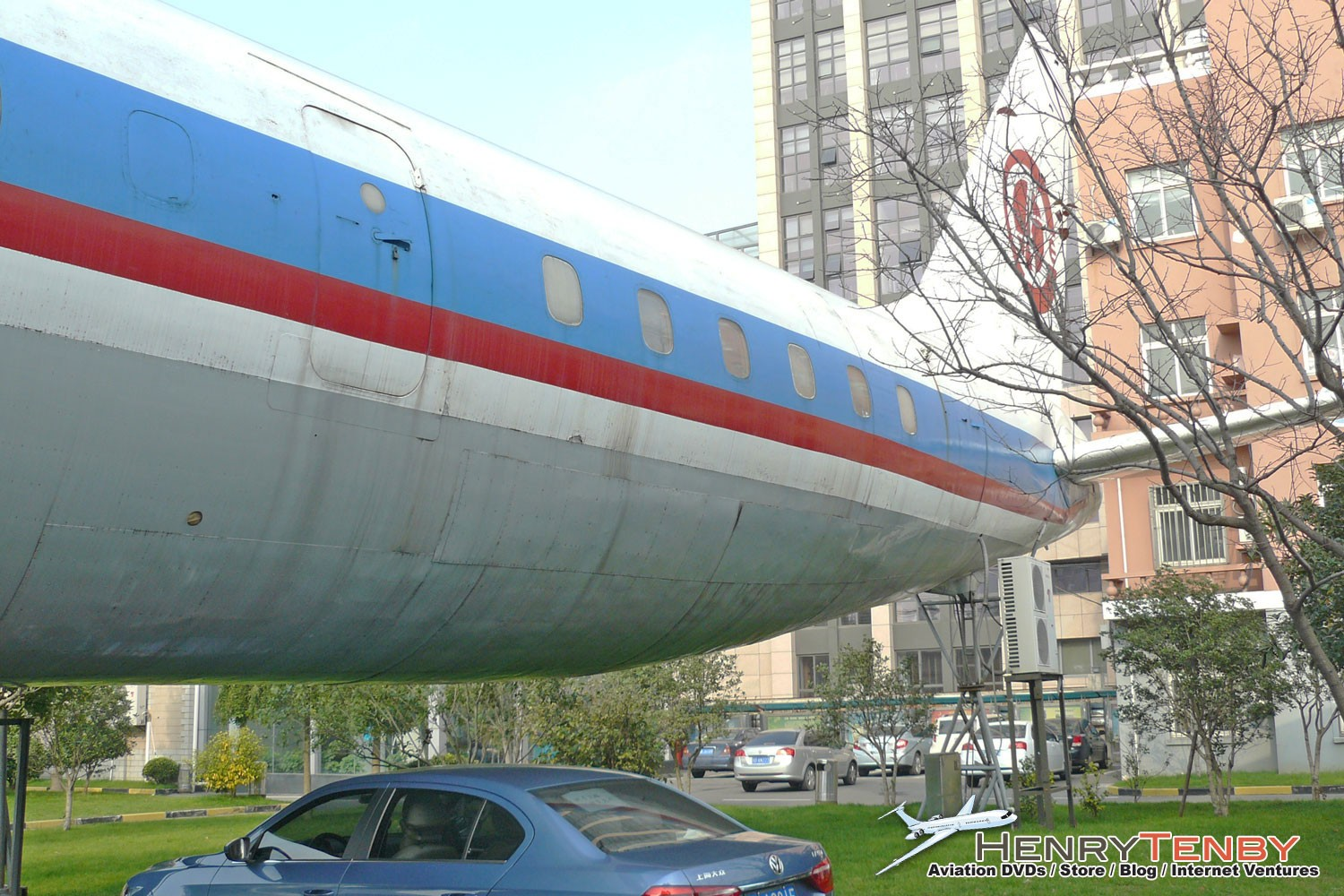 Shanghai Aviation Museum DC-8-61