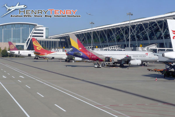 Shanghai Pudong Airport Spotting Report DEC 2014