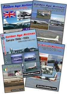 Golden Age Airlines DVD bundle