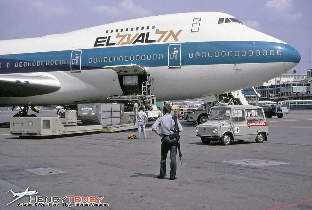 EL AL Boeing 747-258B ZRH MAY 1972