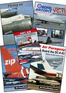 Vintage Jets DVDs bundle